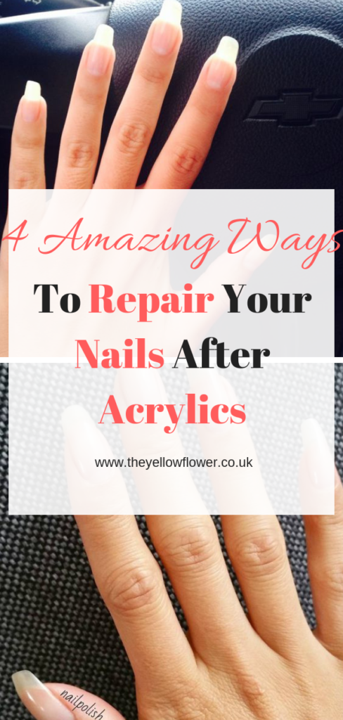 repair your nails after acrylics
