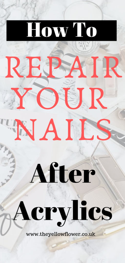 How to repair your nails after acrylics
